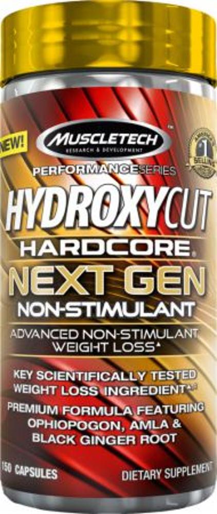MuscleTech Hydroxycut Hardcore Next Gen Non-Stimulant - 150 Capsules