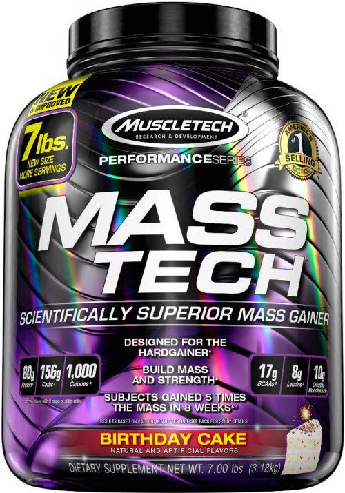 MuscleTech Mass-Tech - 7lbs Birthday Cake