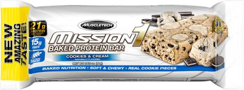 MuscleTech Mission1 Bars - 1 Bar Cookies and Cream