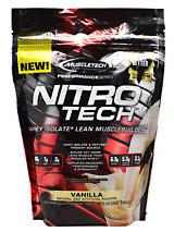 MuscleTech Nitro-Tech - 1lb Vanilla