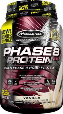 MuscleTech Phase8 - 2.2lbs Vanilla