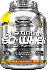 MuscleTech Platinum 100% Iso-Whey - 3.34lbs Gourmet Milk Chocolate