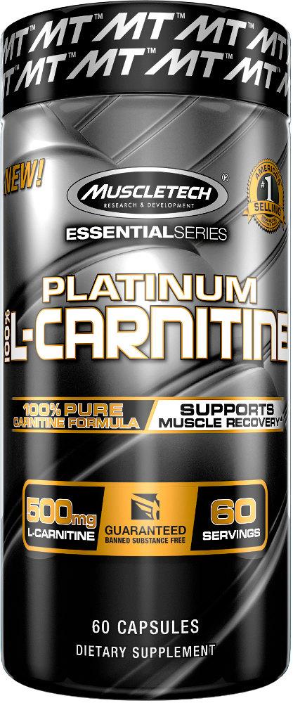 MuscleTech Platinum 100% L-Carnitine - 60ct