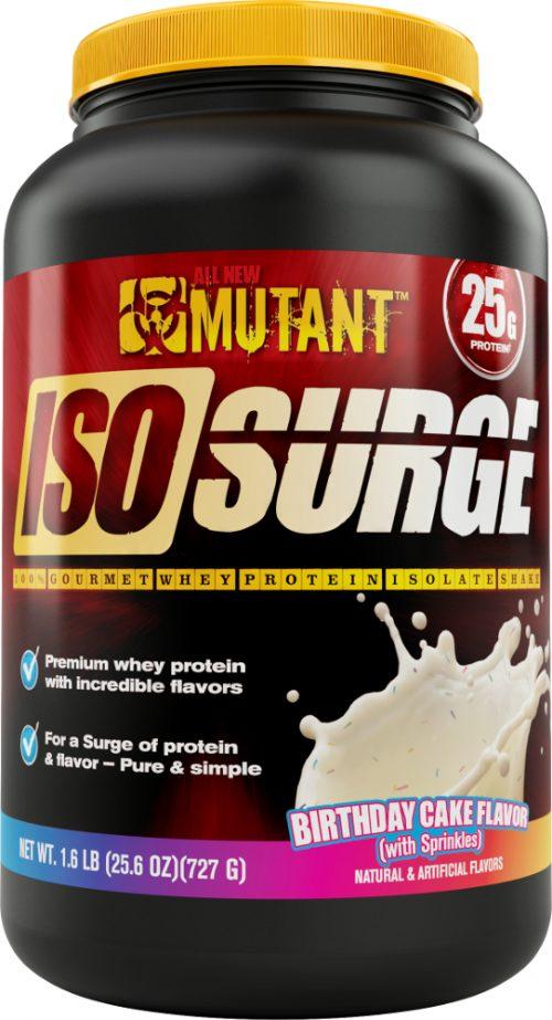 Mutant Iso Surge - 1.6lbs Birthday Cake