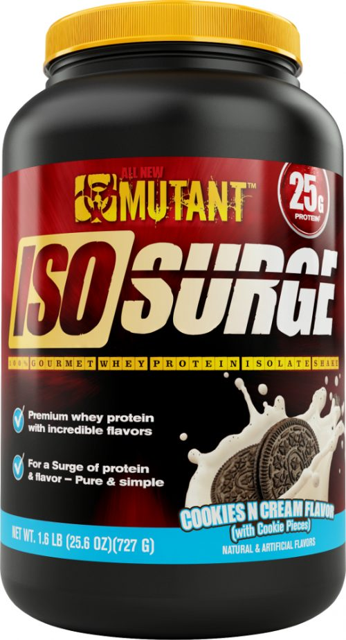 Mutant Iso Surge - 1.6lbs Cookies & Cream