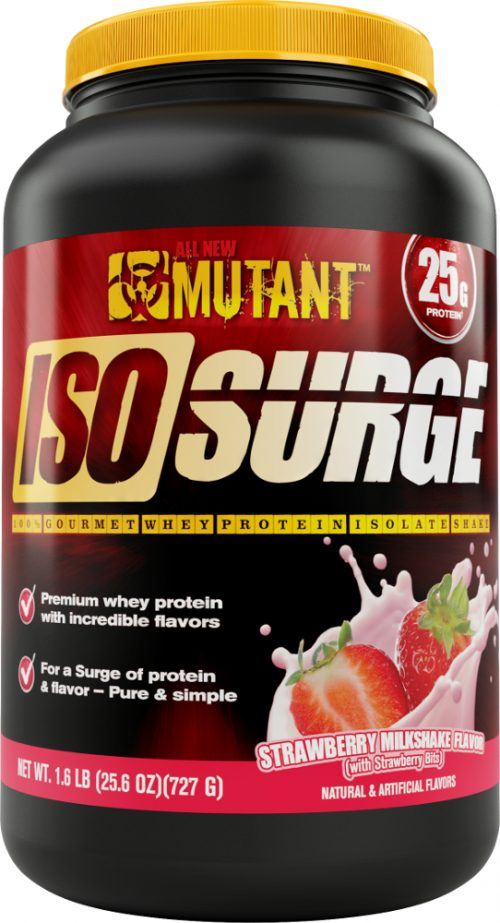 Mutant Iso Surge - 1.6lbs Strawberry Milkshake