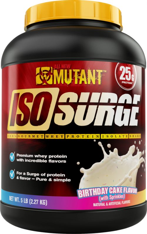 Mutant Iso Surge - 5lbs Birthday Cake