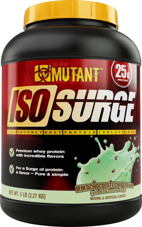 Mutant Iso Surge - 5lbs Mint Chocolate Chip
