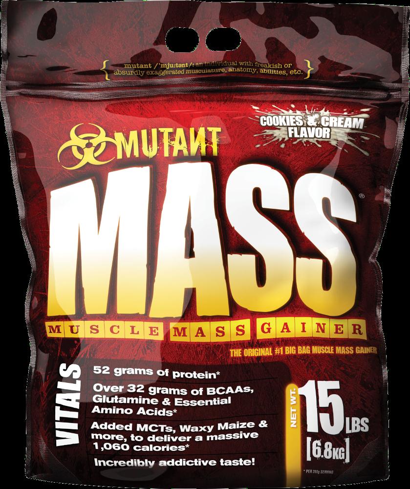 Mutant Mutant Mass Gainer - 15lbs Cookies & Cream