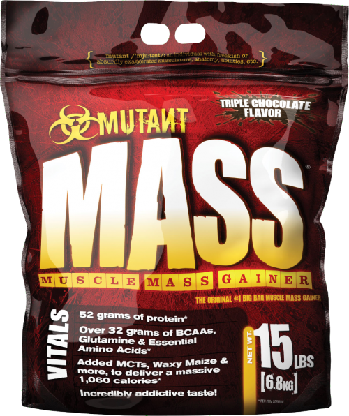 Mutant Mutant Mass Gainer - 15lbs Triple Chocolate Flavor
