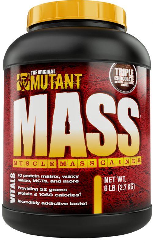 Mutant Mutant Mass Gainer - 6lb Triple Chocolate