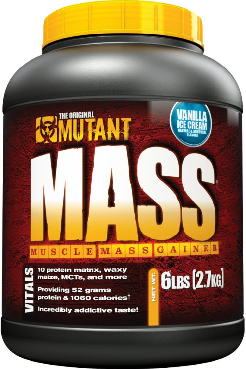 Mutant Mutant Mass Gainer - 6lb Vanilla Ice Cream