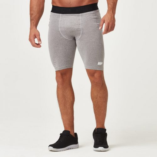 Myprotein Charge Compression Shorts - Grey Marl - XXL