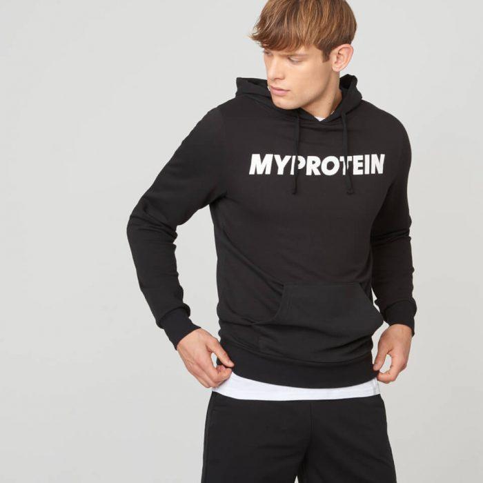 Myprotein Logo Hoodie - Black - XL
