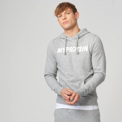 Myprotein Logo Hoodie - Grey Marl - XL