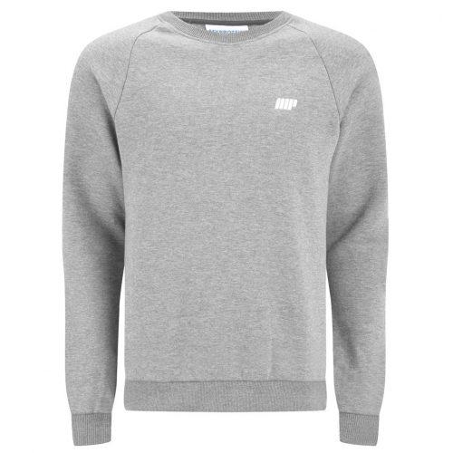 Myprotein Men's Crew Neck Sweatshirt - Grey Marl, XXL