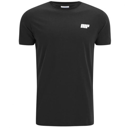 Myprotein Men's Longline Short Sleeve T-Shirt - Black, XXL