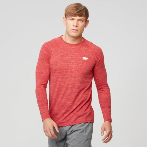 Myprotein Men's Performace Long Sleeve Top - Red - XL