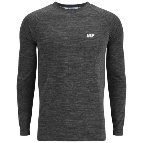 Myprotein Men's Performance Long Sleeve Top - Black - XXL (USA)