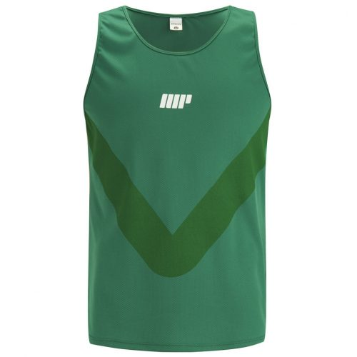 Myprotein Men's Running Tank - Green, XL