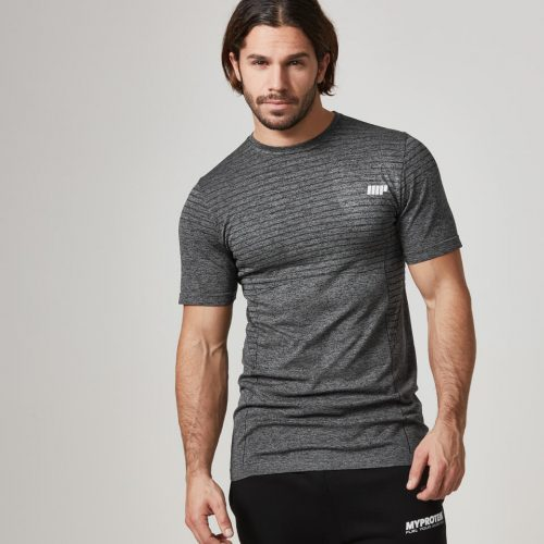 Myprotein Men's Seamless T-Shirt - Black, XL