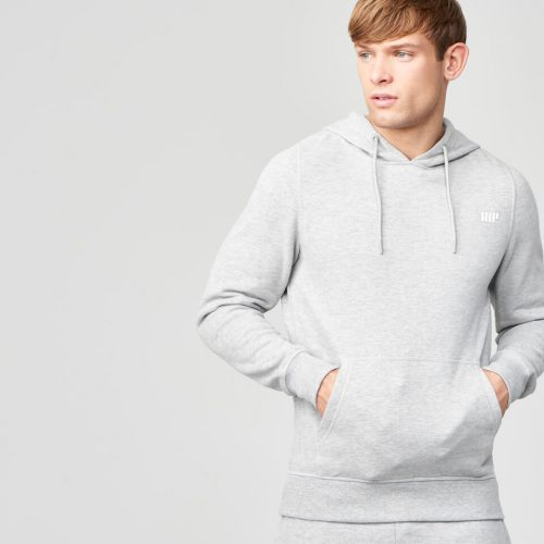 Myprotein Men's Tru-Fit Pullover Hoodie - Light Grey Marl - L