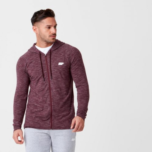 Myprotein Performance Zip Top - Burgundy Marl - M
