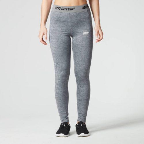 Myprotein Women's Core Leggings - Grey Marl, XL