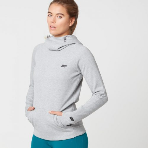 Myprotein Women's Tech Hoody - Grey Marl - XL