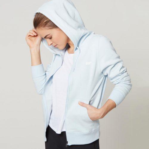 Myprotein Women's Tru-Fit Full Zip Hoodie - Powder Blue - M