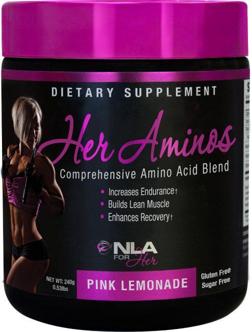NLA For Her Her Aminos - 30 Servings Pink Lemonade