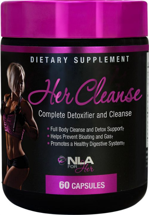 NLA For Her Her Cleanse - 60 Capsules