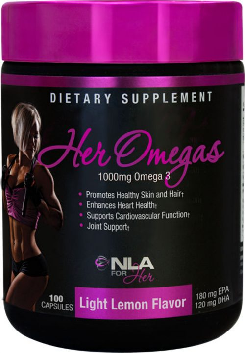 NLA For Her Her Omegas - 100 Capsules