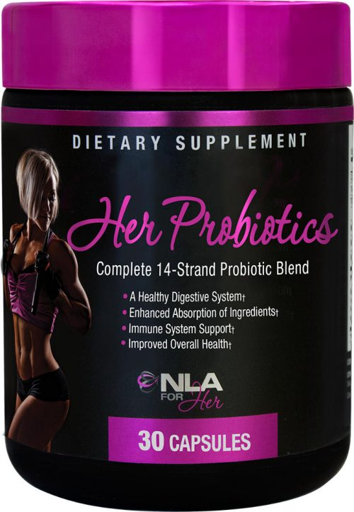 NLA For Her Her Probiotics - 90 Capsules