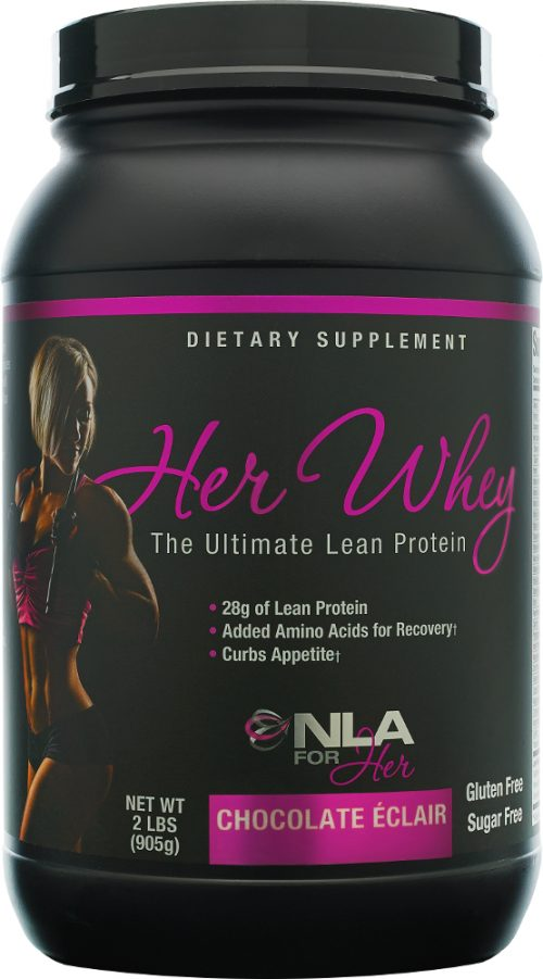 NLA For Her Her Whey - 2lbs Chocolate Eclair