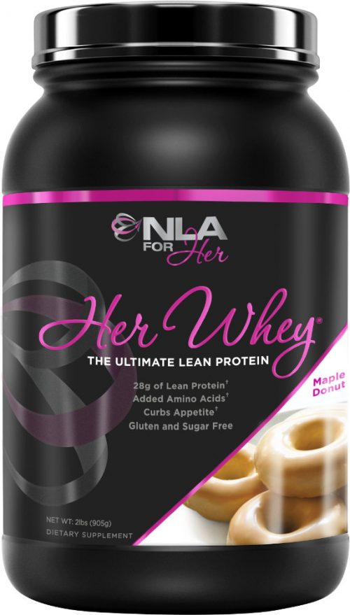 NLA For Her Her Whey - 2lbs Maple Donut
