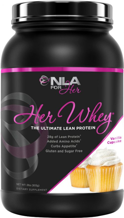 NLA For Her Her Whey - 2lbs Vanilla Cupcake