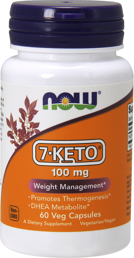 NOW Foods 7-Keto - 60 VCapsules