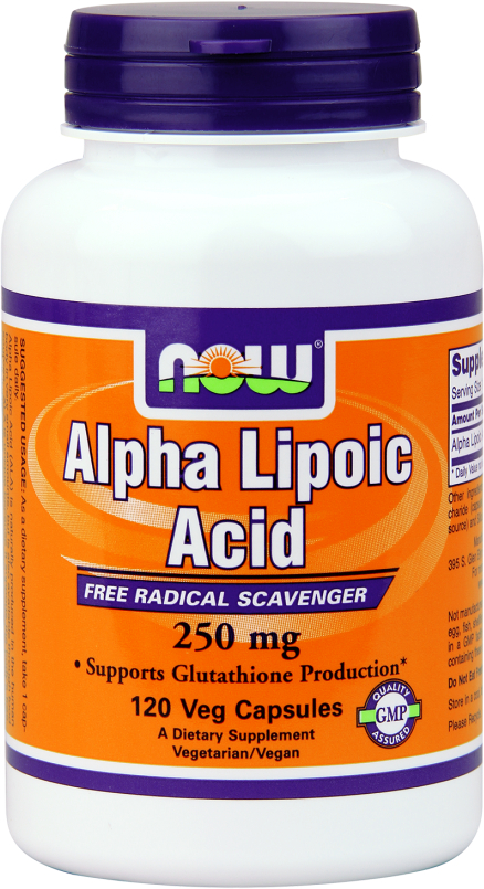 NOW Foods Alpha Lipoic Acid 250 - 120 VCapsules