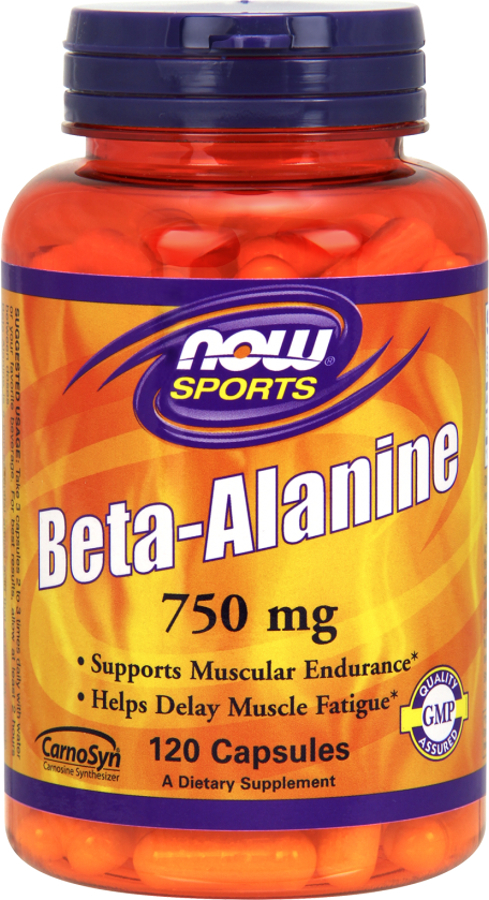 NOW Foods Beta-Alanine Capsules - 120 Capsules
