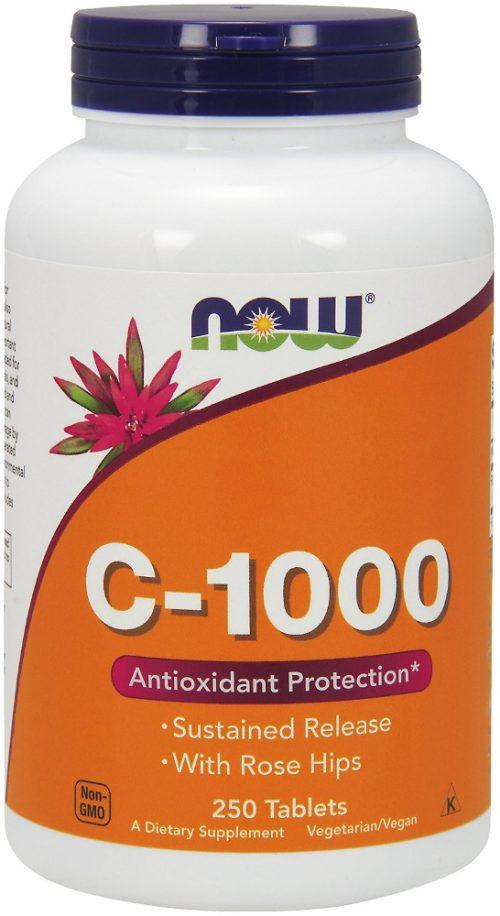 NOW Foods C-1000 Vitamin C - 250 Capsules