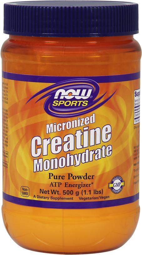 NOW Foods Creatine Monohydrate Powder - 600g