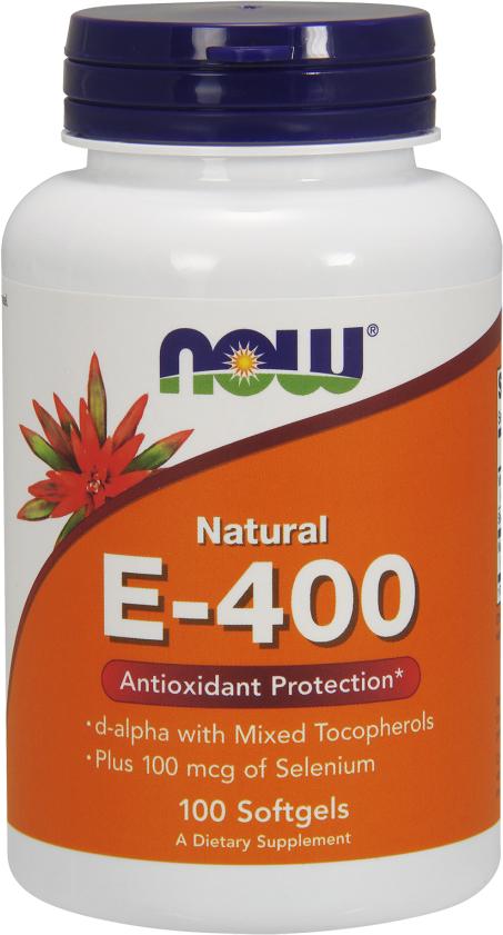 NOW Foods E-400 - 100 Softgels