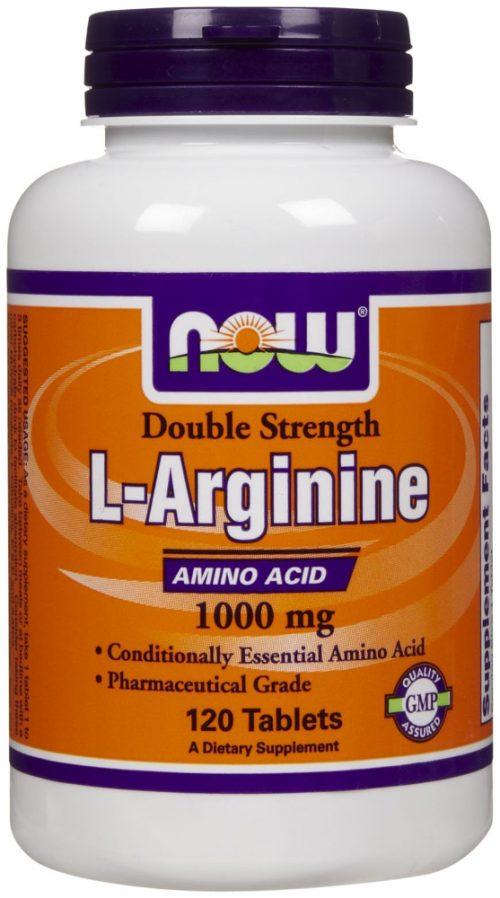NOW Foods L-Arginine - 120 Tablets