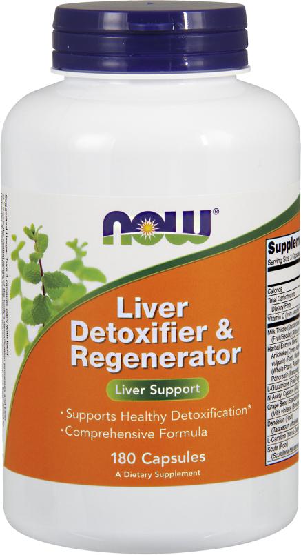 NOW Foods Liver Detoxifier & Regenerator - 180 Capsules