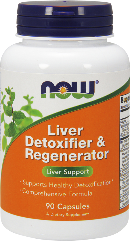 NOW Foods Liver Detoxifier & Regenerator - 90 Capsules