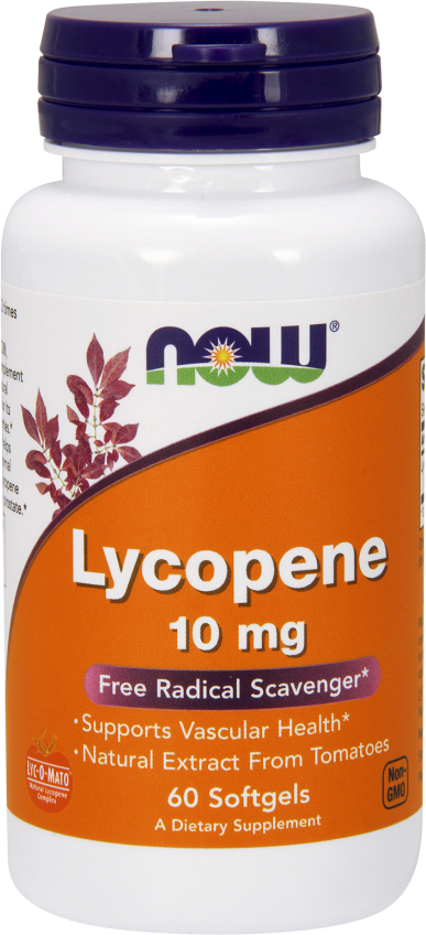NOW Foods Lycopene - 10mg/60 Softgels
