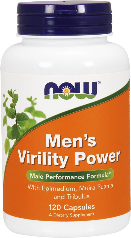 NOW Foods Men's Virility Power - 120 Capsules