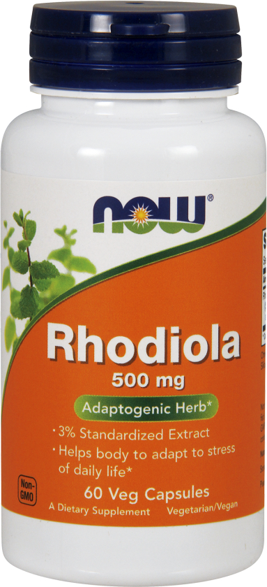 NOW Foods Rhodiola - 60 VCapsules