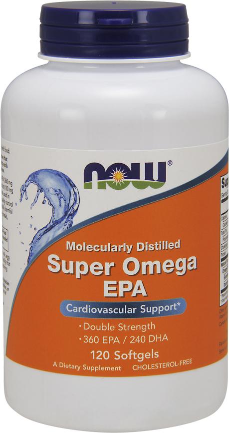 NOW Foods Super EPA - 120 Softgels